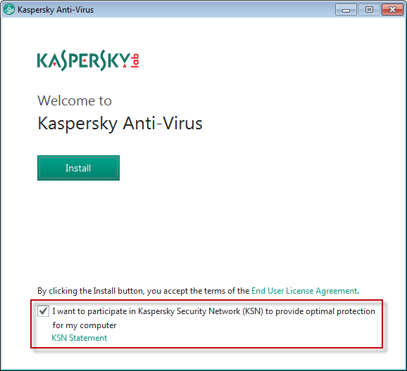 Kaspersky Security Network Statement